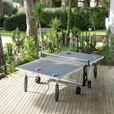 TABLE DE TENNIS DE TABLE 250S CROSSOVER GRIS