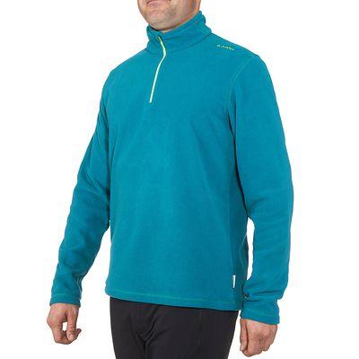 Polaire randonnée homme Forclaz 50 bleu