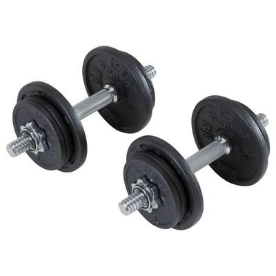 Kit haltères musculation 20 kg