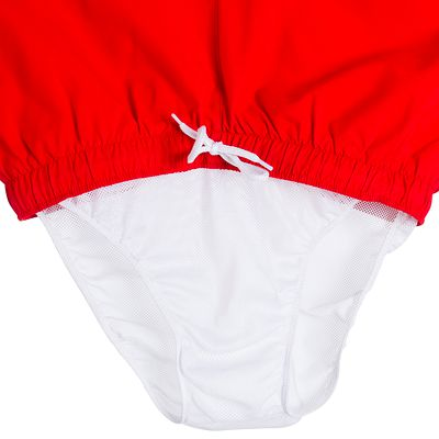 Boardshort court Hendaia rouge
