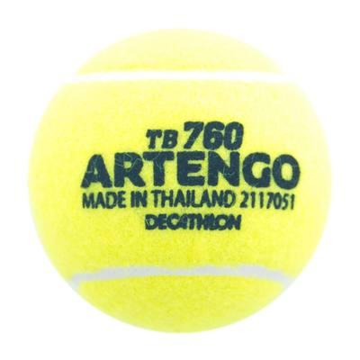Balle de tennis entrainement jaune