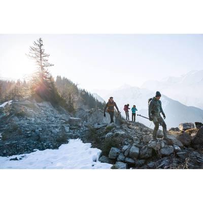 Veste Polaire randonnée montagne homme Forclaz 400 noir