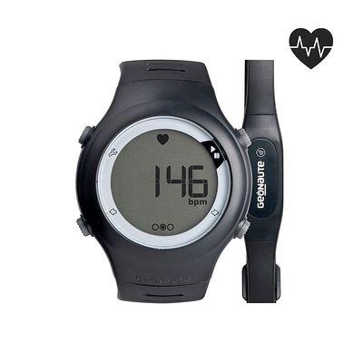 Montre et ceinture cardiofréquencemètre ONRHYTHM 50 noire