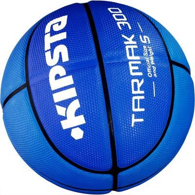 Ballon Basketball adulte Tarmak 300 taille 5 bleu