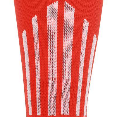 Chaussettes hautes football enfant F 500 rouge