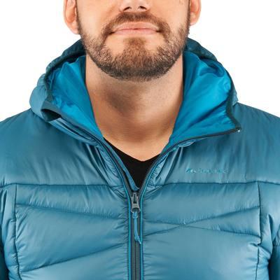 Doudoune randonnée homme X-Light 2 bleu