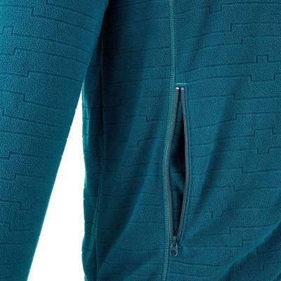Polaire randonnée homme Forclaz 200 bleu
