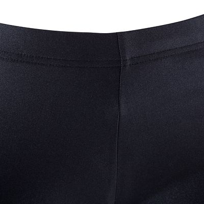 Shorty Strass Gym Fille Noir