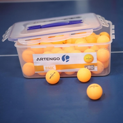 80 BALLES TENNIS DE TABLE 850 C ARTENGO