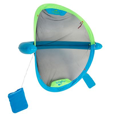 BUT GONFLABLE WATERPOLO PISCINE POLO UP BLUE VERT