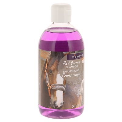 Shampoing équitation cheval et poney FRUITS ROUGES 500 ML
