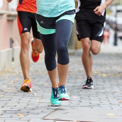 CORSAIRE RUNNING FEMME KALENJI ELIOPLAY  GRIS
