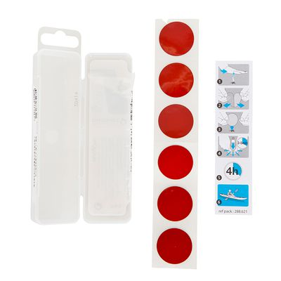 KIT REPARATION KAYAK GONFLABLE 6 PATCHES AUTOCOLLANTS