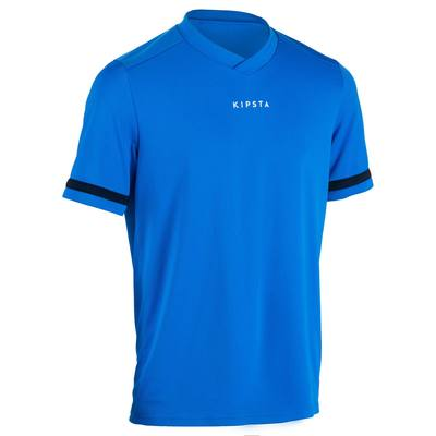 Maillot rugby homme R100 bleu