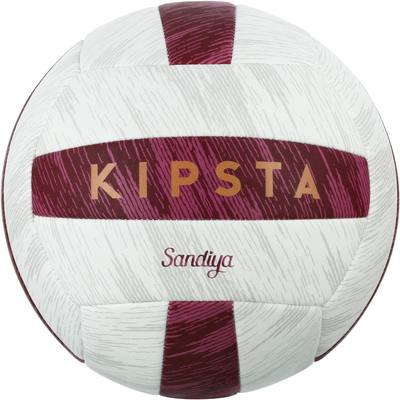 Ballon de beach-volley Sandiya rouge