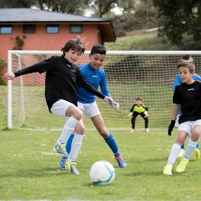 Maillot de football enfant F100 noir