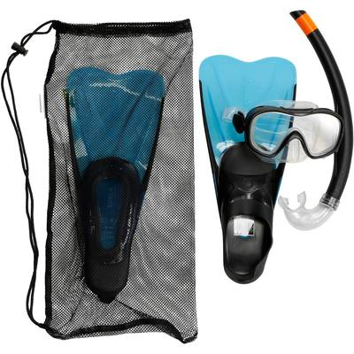 KIT SNORKELING CARAIBES 100 JUNIOR