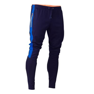 Pantalon d'entraînement de football adulte T500 bleu marine