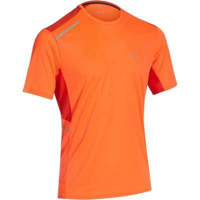 TEE SHIRT RUNNING HOMME RUN DRY+ ROUGE
