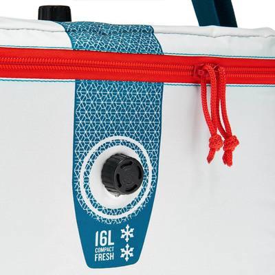 GLACIERE SOUPLE CAMPING / CAMP DU RANDONNEUR ICE FRESH COMPACT 16 LITRES