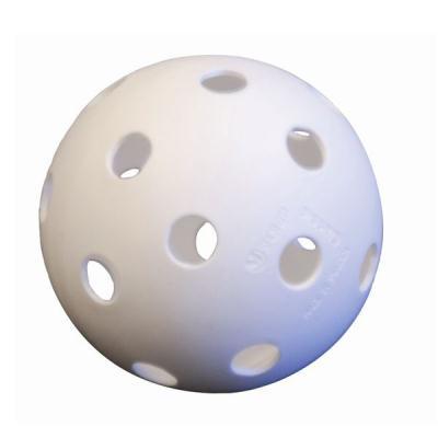 LOT DE 6 BALLES UNIHOCKEY BLANC