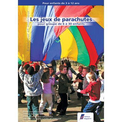 LIVRE LES JEUX DE PARACHUTE DE 3 À 12 ANS