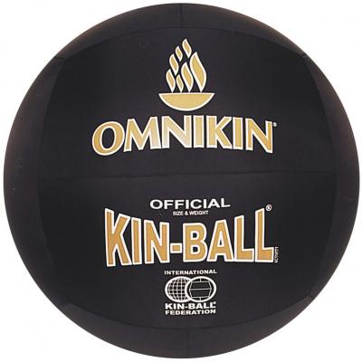 BALLON KIN BALL OFFICIEL NOIR/OR