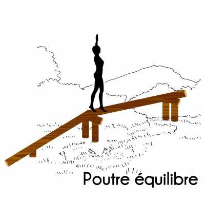 POUTRE D'ÉQUILIBRE MODULE PARCOURS SPORTIF