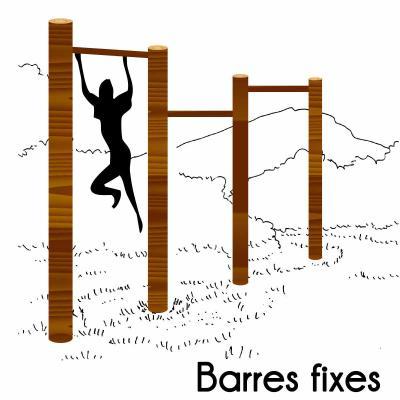 BARRES FIXES MODULE PARCOURS SPORTIF
