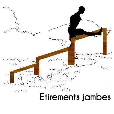 ETIREMENT DES JAMBES MODULE PARCOURS SPORTIF