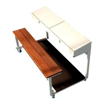 TABLE DE MARQUE MOBILE 3 OU 6 PLACES.