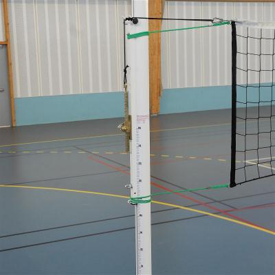 PAIRE DE POTEAUX VOLLEY BALL ALUMINIUM COMPETITION CLASSE A