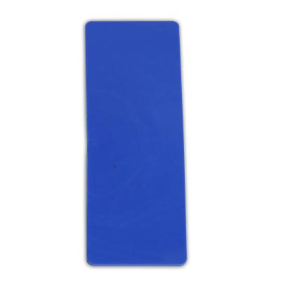 LOT DE 6 EMPREINTES RECTANGLE BLEU