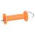 Poignée de porte de clôture équitation fil et cordelette orange