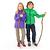 Veste imperméable de randonnée enfant Hike 500 marine