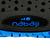 Chausson aquagym aquafitness AQUADOTS noir bleu
