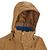 Veste trekking Rainwarm 100 3en1 homme camel
