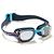 Lunettes de natation 100 XBASE PRINT Taille L MIKA Bleu