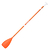 PAGAIE STAND UP PADDLE 100 REGLABLE 170-210 CM ORANGE