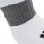 Chaussette de football enfant F500 blanche et grise