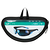 Lunettes de randonnée adulte MH 570 noires & bleues catégorie 4