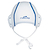 Lot 13 bonnets water polo adulte entrainement blanc
