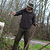 Polaire chasse 300 marron