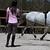 2 protège-boulets équitation poney et cheval RIDING noir