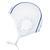 Bonnet water polo adulte entrainement blanc
