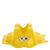 Rack support de trottinette jaune