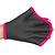 Gants palmés aquagym noir rose