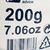 Magnésie 200 gr