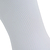 Chaussette de football adulte F100 blanche