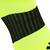 Chaussette de football adulte F500 jaune fluo et noire